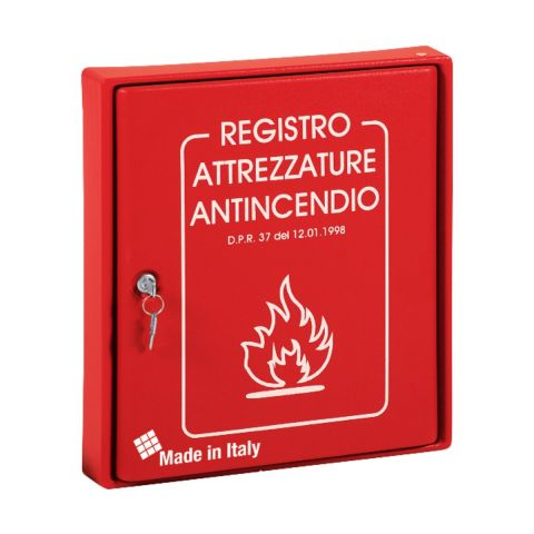 Cassetta Porta Documenti Attrezzature Antincendio 300x365x50mm