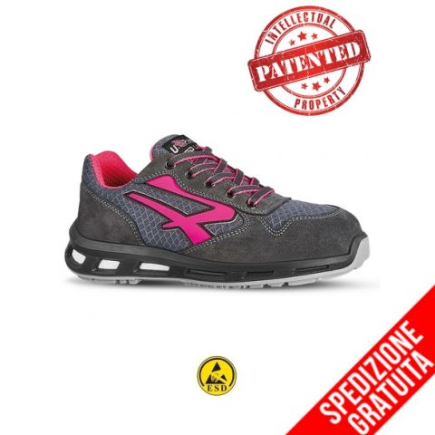 U POWER Scarpa Antinfortunistica bassa Redlion VEROK - S1P SRC ESD