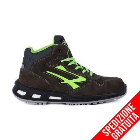 U POWER Scarpa Antinfortunistica Alta Redlion HUMMER S3 SRC
