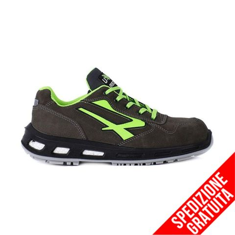 U POWER Scarpa Antinfortunistica Bassa Redlion YODA S3 SRC